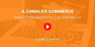 IL CANALE E-COMMERCE: ASPETTI ORGANIZZATIVI E DI CONTROLLO