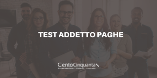 Test addetto paghe