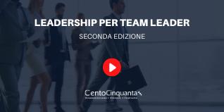 Leadership per team leader ed. 2